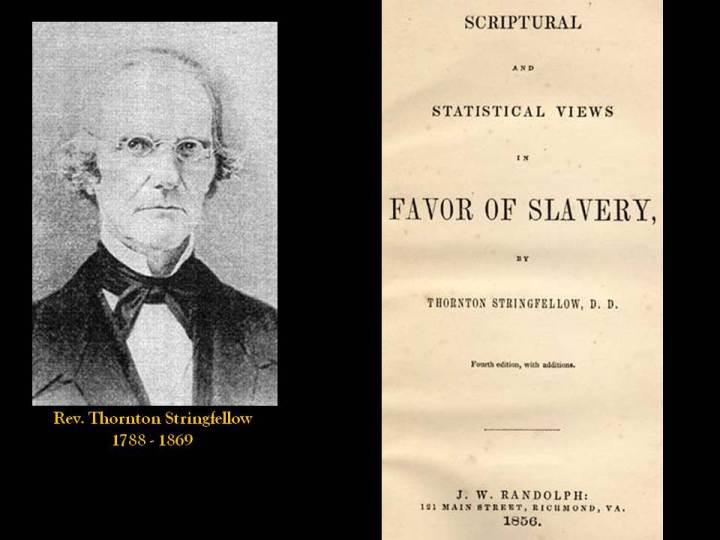 The Reverend Thornton Stringfellow