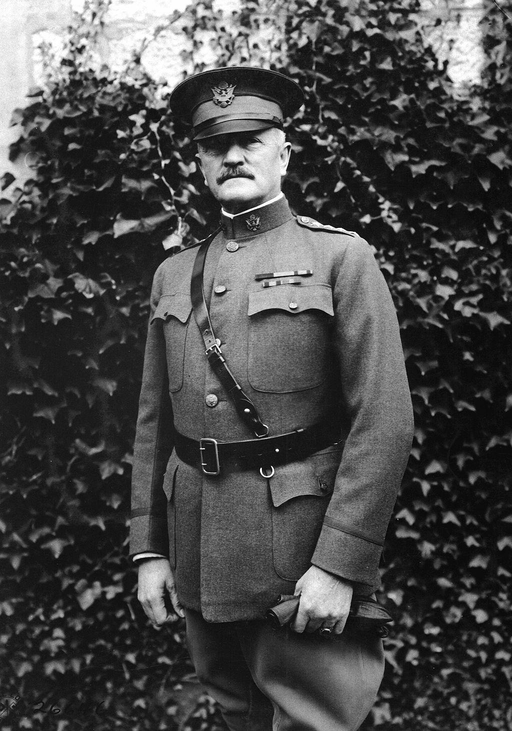 General John Pershing, France, 1918