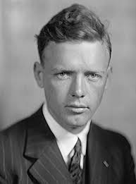 Charles Lindbergh in the 1930's.
