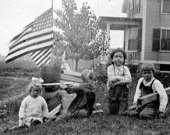 American families began to embrace a feeling of nationalism.