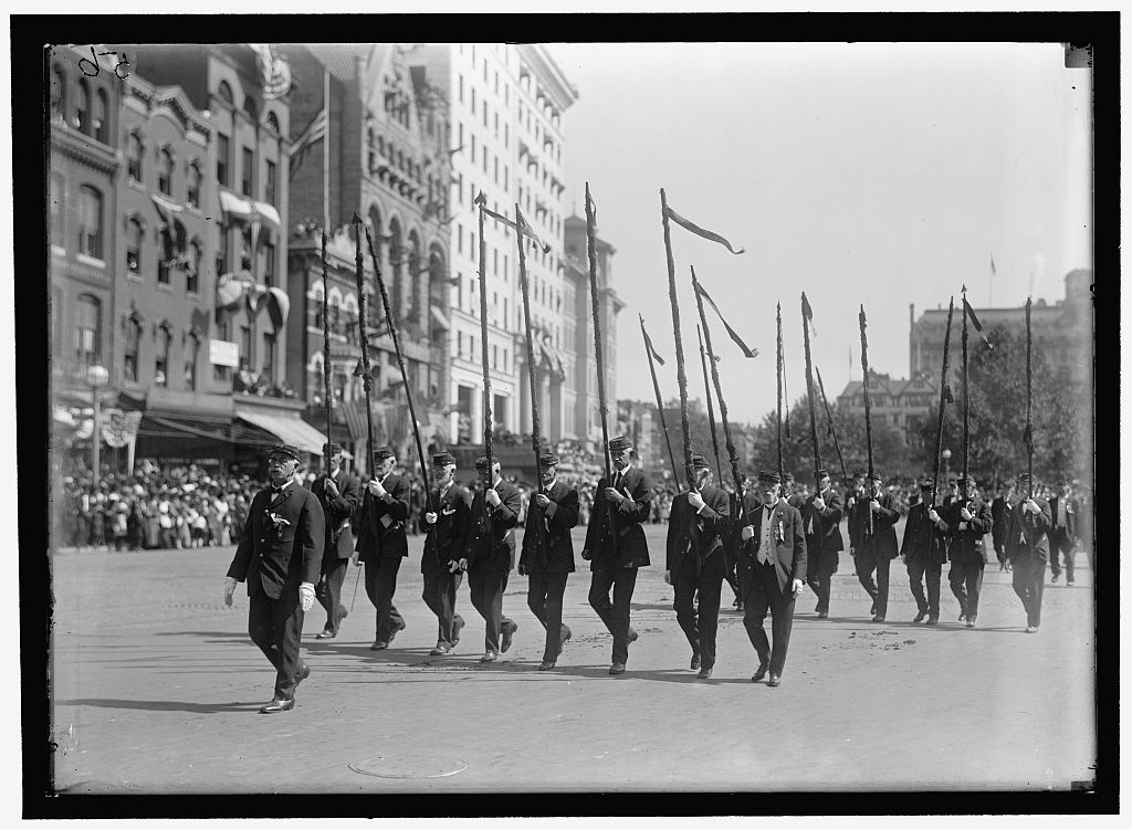 1915, Grand Army of the Republic parade, Pennsylvania  veterans