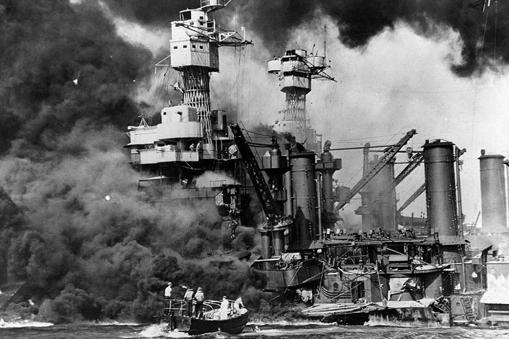 Attack on Pearl Harbor; December 7, 1941