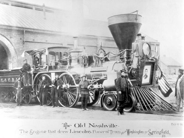 Lincoln's funeral train.
