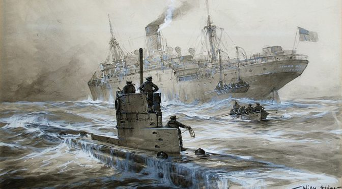 Terror in the Atlantic: Nazi U-boat Attacks on American Ships during World War II.